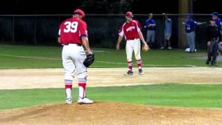 vladimir camacho pitches in cape cod baseball league 7 13 12 5994