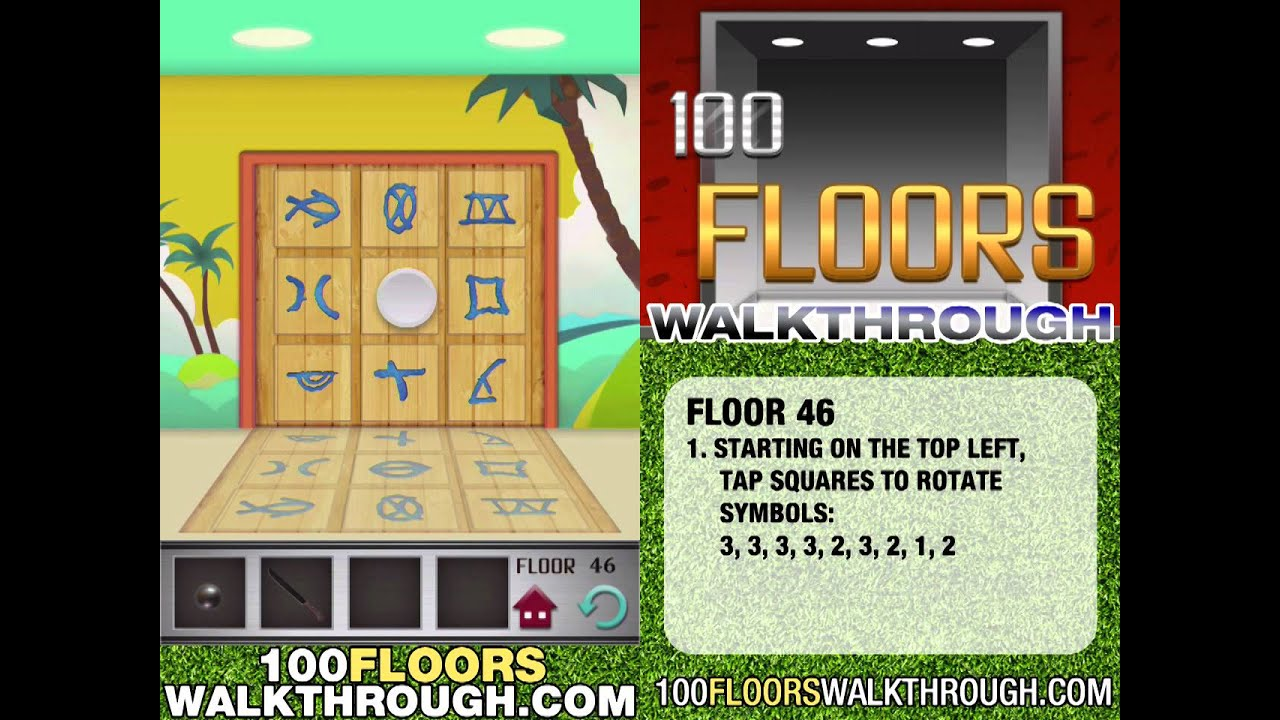 Floor 46 Walkthrough 100 Floors Walkthrough Floor 46