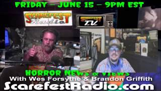 Brandon Griffith With The News Scarefest TV SF11 E29