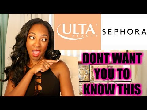 The ONE Secret ULTA And SEPHORA Don't Want You To Know   How To Get Beauty Products For 50% Off