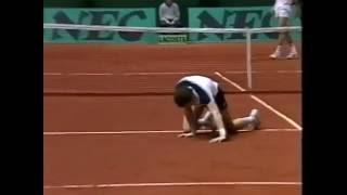 Henrik Sundström vs McEnroe Final - Davis Cup 1984