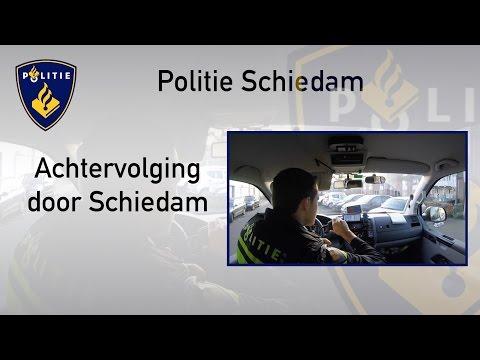 Politie #PRO247 Achtervolging door Schiedam
