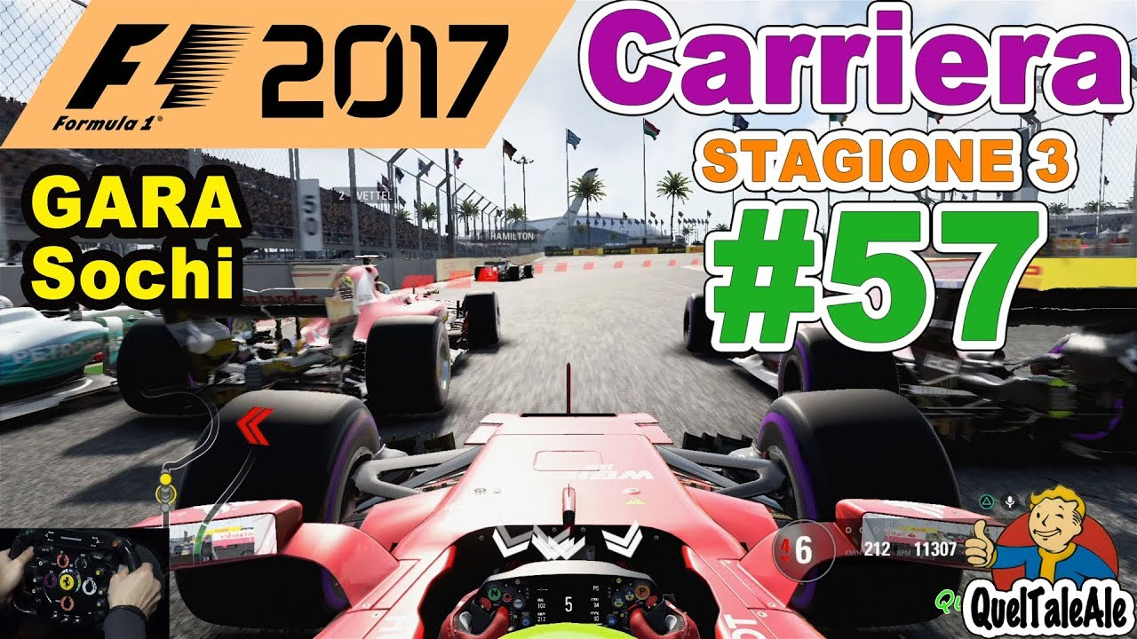 f1 2017 ps4 gameplay ita t300 carriera 57 gara. Black Bedroom Furniture Sets. Home Design Ideas