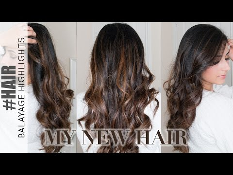Balayage Highlights on Dark Hair: My New Hair Colour   Ysis Lorenna