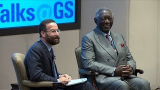 John Kufuor, Former President of the Republic of Ghana: Talks at GS Session Highlights