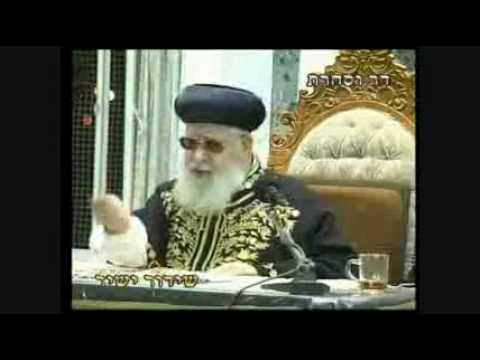 Rav Ovadia Yosef: Sheitels
