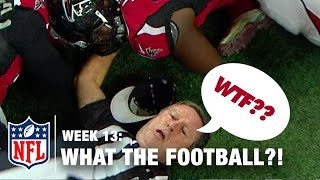 Top 5 Worst Moments (Week 13) | WTF: What The Football?! | NFL Now