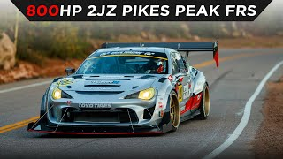 homepage tile video photo for PIKES PEAK 2020 | DAI YOSHIHARA | 1st PLACE UNLIMITED DIVISION FULL RUN | #TOYOTIRES | [4K]