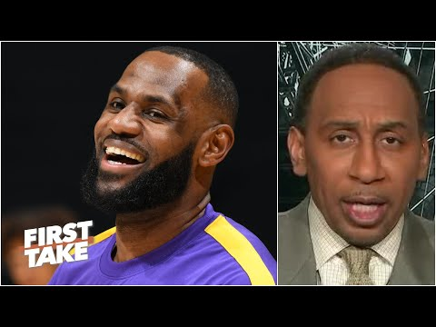 Stephen A. reacts to LeBron becoming the MVP favorite at most sportsbooks | First Take