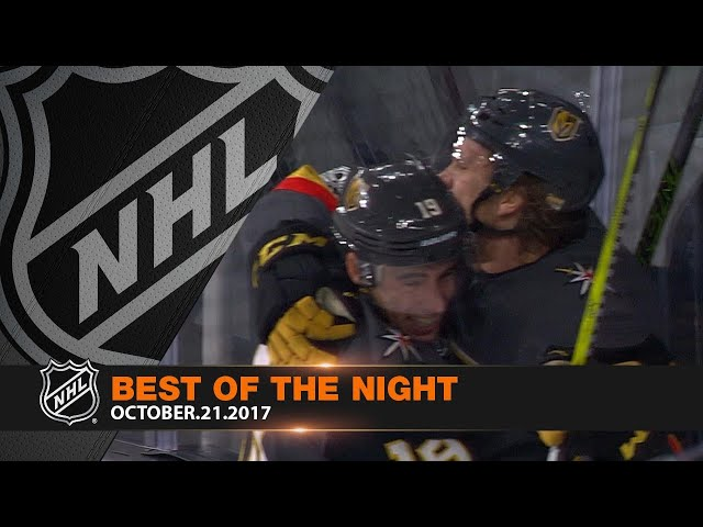 Best of the Night for Oct 21st