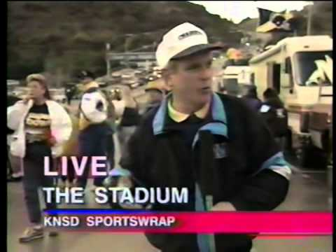Post Chargers vs. Steelers, local news, 1995
