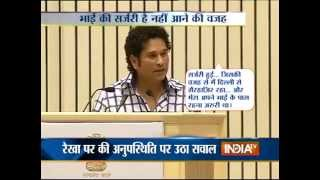 Medical Emergency Kept Me Away From Rajya Sabha, Says Sachin Tendulkar - India TV