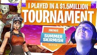 $1.5 Million Dollar Fortnite Tournament vs Best Players in the World... - Summer Skirmish Week 8