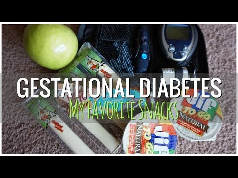 Gestational Diabetes // My Favorite Snacks