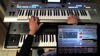 VANGELIS - HYMNE - YAMAHA TYROS 4 - PETRY GILLES