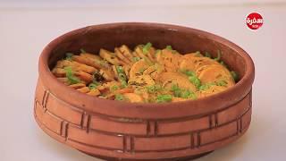 بطاطا حلوة مقرمشة - مكرونة بالجمبري والثوم  | عمايل إيديا (حلقة كاملة)