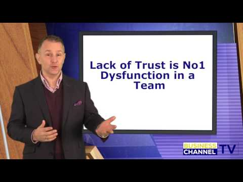 Lack of Trust is No1 dysfunction in a team