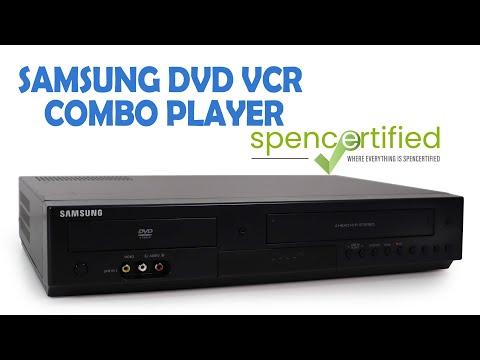 Samsung DVD-V9800 DVD VCR Player Combo Product Demonstration