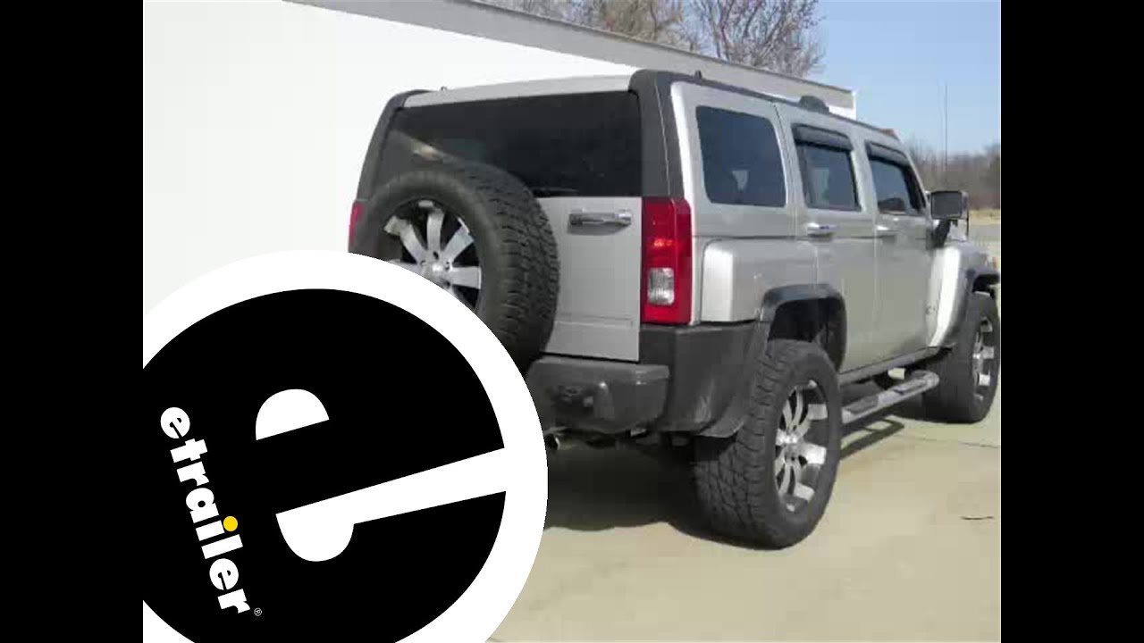 Installation of the Roadmaster Tow Bar Wiring Kit on a 2006 Hummer