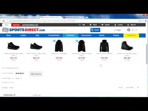 SportsDirect.com - пуховик.