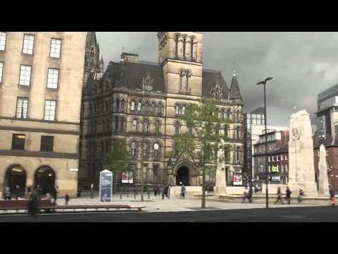 Tram Trip Salford to Manchester 2014