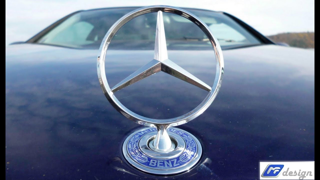 How To Remove Symbol Badge The Mercedes Benz From Hood Jak