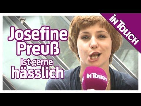 Josefine Preuß ist gerne hässlich