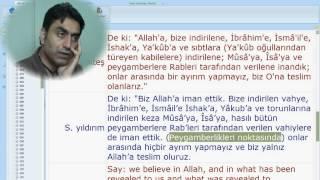 Al-i İmran suresi 84 (Doç. Dr. Halis AYDEMİR)