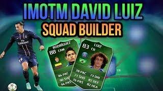 iMOTM DAVID LUIZ LIGUE 1 SQUAD BUILDER! FIFA 14 ULTIMATE TEAM