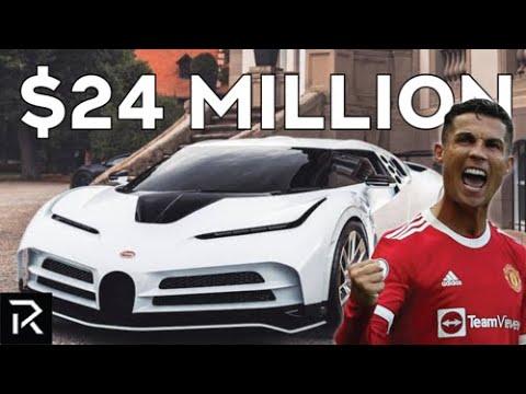 Inside Cristiano Ronaldo's $24 Million Dollar Car Collection