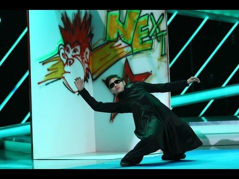 Neo din Matrix la Next Star! Robert Hu reproduce două  din celebrul film