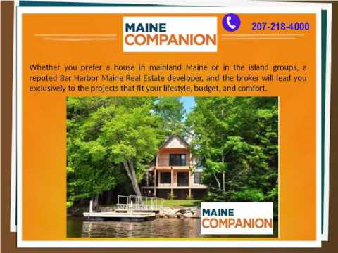 The Best Bar Harbor Real Estate Broker in Maine