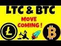 LTC & BTC MOVE COMING! litecoin bitcoin technical analysis, litecoin bitcoin price today