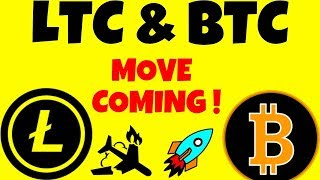 LTC & BTC MOVE COMING! litecoin bitcoin technical analysis, litecoin bitcoin price today