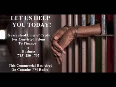 Guaranteed Finance For Convicted Felons / Guaranteed Credit After Bankruptcy