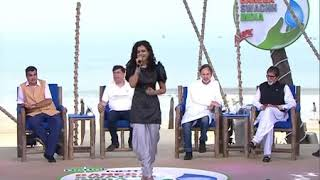 Gambar cover Palak Muchhal live performances on NDTV India || bnega swachh India