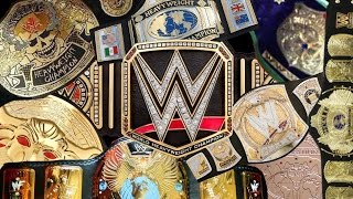 COMPLETE HISTORY OF THE WWE CHAMPIONSHIP!!! (BELTS!! BELTS!! BELTS!!)