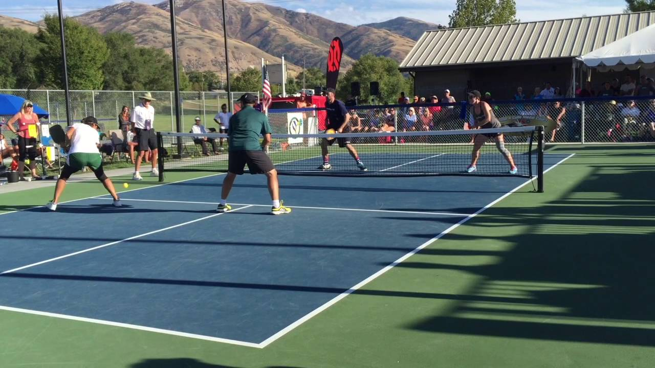 Pickleball Tournament of Champions Mixed Doubles Final ...