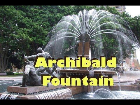 Archibald Fountain Hyde Park Sydney