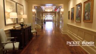 A video tour of the Harbour Town Clubhouse with John Cottis, Project superintendent with Choate Construction, on March 24, 2015.