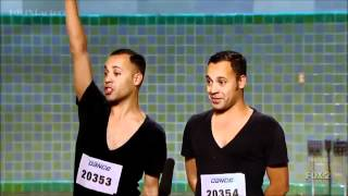 James & Nick Aragon (Ninja Twins) - SYTYCD 9 (L.A. Auditions)