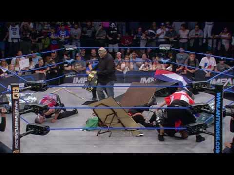 LAX vs. Decay A World Tag Team Title Street Fight | IMPACT April 27th, 2017