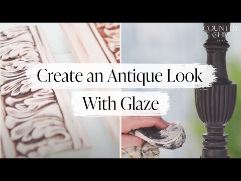 How To Glaze Your Painted Furniture For An Antique Look | Glazing Tutorial