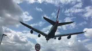 My Best Up Close 747 & A380 Jumbo Jets Plane Spotting Videos