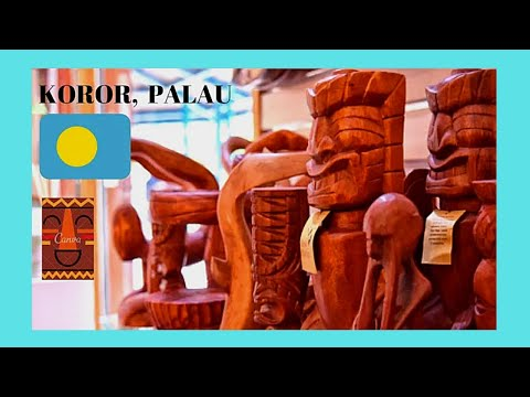 PALAU, wooden staues and storyboards made by inmates in KOROR'S PRISON