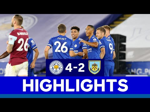Leicester Burnley Goals And Highlights