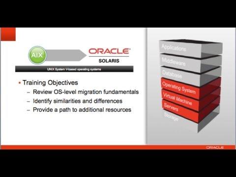 IBM AIX To Oracle Solaris Migration Fundamentals Training