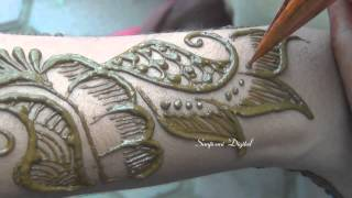 Latest Mehndi Designs 2013 Step by Step #58