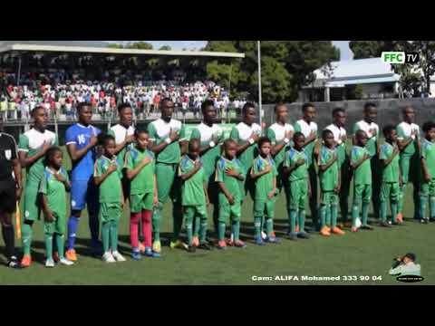 Comores - Namibie  au Stade de Moroni CHAN ( Hymne Comoros )