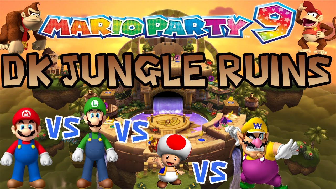Mario Party 9 Dk Jungle Ruins Gameplay W Commentary Master